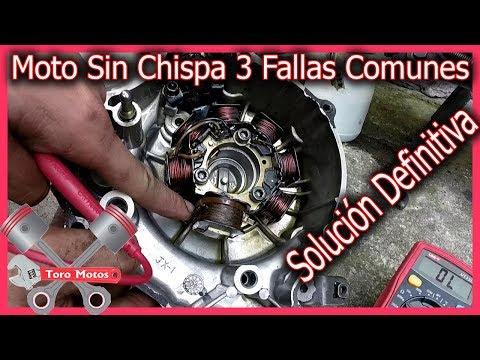 Mi Moto No Enciende Y No Da CHISPA 3 Fallas Comunes - moto