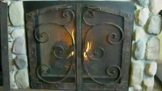 Gallatin Direct Vent Gas Fireplace Burn Video