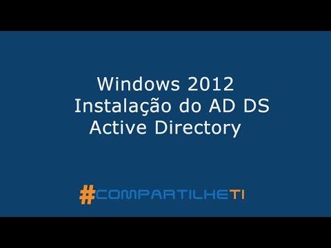 Windows 2012  -  Instalação do AD DS Active Directory