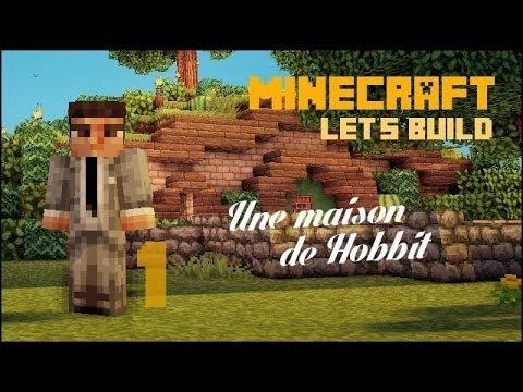 fr minecraft let s build une maison de hobbit 1 2