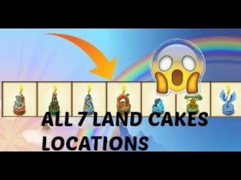 Animal Jam All 7 birthday cakes locations YouTube