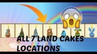 Animal Jam   All 7 birthday cakes locations