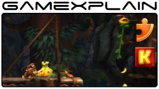 donkey kong country returns 5 7 wigglevine wonders puzzle pieces kong letters guide walkthrough