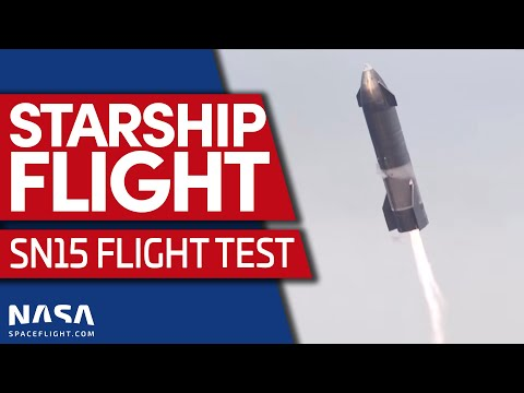 Full Replay: Starship SN15 sticks landing during flight test