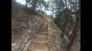 Betasso Preserve Mountain Bike Trail - Complete. Boulder, Colorado