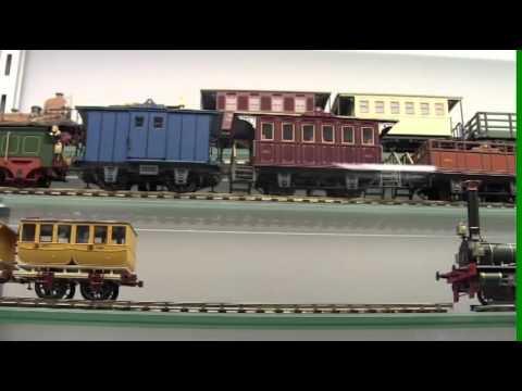 Visita al màgic món del tren en Santa Eugènia de Berga