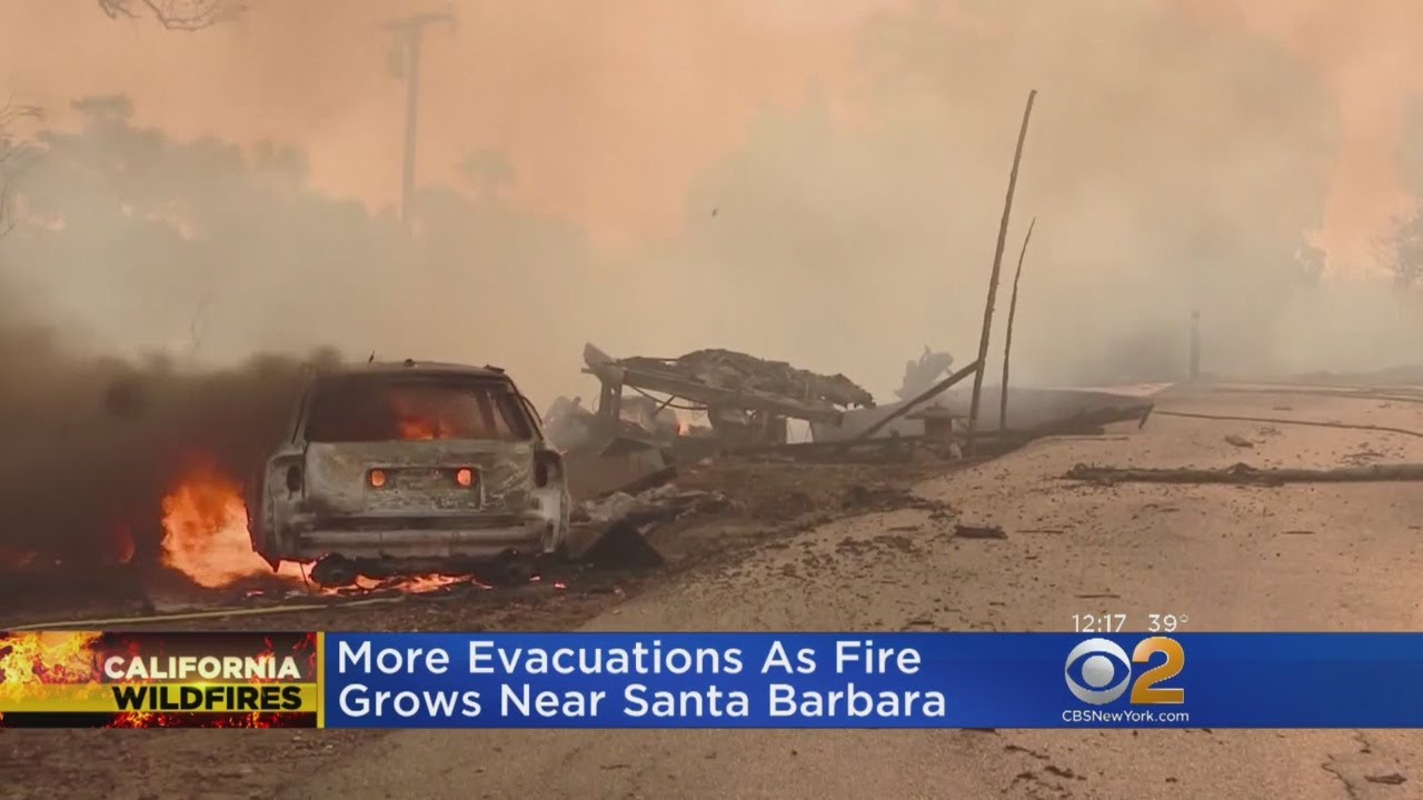 Maria Fire: Blaze near Santa Paula continues threatening homes ...