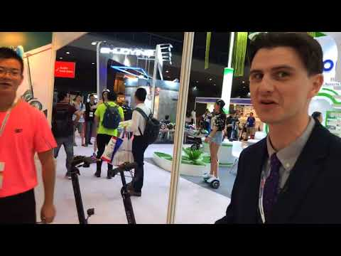 Global Sources Consumer Electronics Show highlight: Electric Personal Transporters Zone