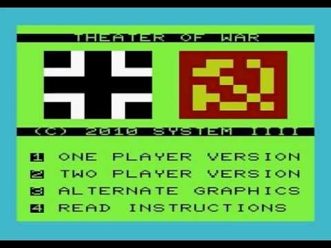 Theater of War Trilogy for the Commodore VIC-20