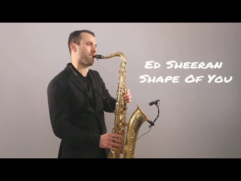 Ed Sheeran - Shape Of You Saxophone Cover by Juozas Kuraitis