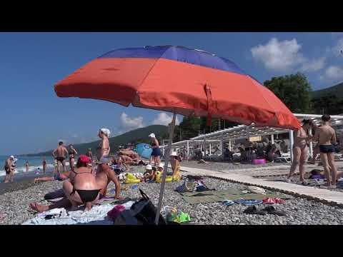 ДОЖДАЛИСЬ!!! Вода + 24! Море штормит. Пляж \