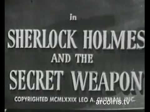 Sherlock Holmes e l'arma  misteriosa  1943 Basil Rathbone
