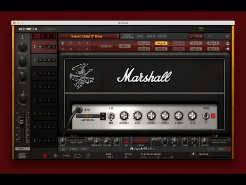 Slash Tone With Amplitube 4