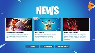 NEW FORTNITE X JORDAN DOWNTOWN LTM GAMEPLAY + FREE DOWNTOWN CHALLENGES REWARDS NOOB WITH 60 WINS