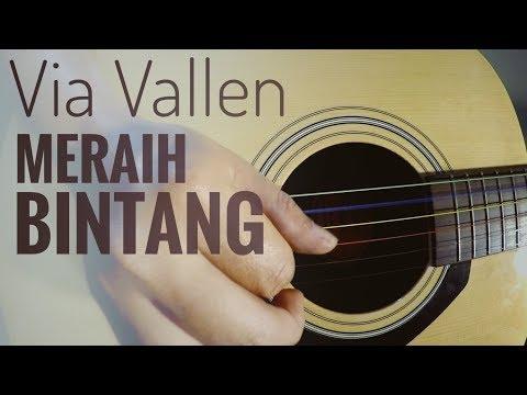 Via Vallen - Meraih Bintang Cover (Fingerstyle Guitar) | The Superheru