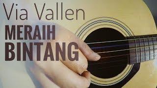 Download lagu Via Vallen - Meraih Bintang Cover (Fingerstyle Guitar)   The Superheru