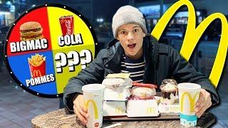 GLÜCKSRAD bestimmt unser ESSEN bei McDonalds! 🍔😦 (Fan schlägt AJ)