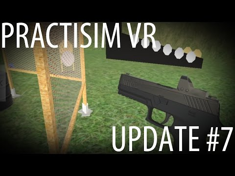 USPSA / IPSC in VR - Update #7 : More guns, start positions, improved menu etc