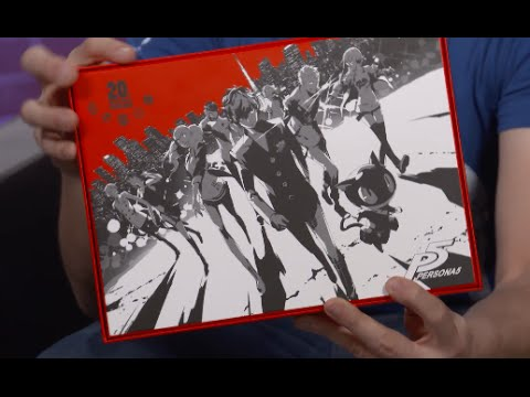 Unboxing Persona 5 Japanese Special Edition