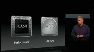 Apple FUSION DRIVES : PHIL SCHILLER (OCT. 2012)