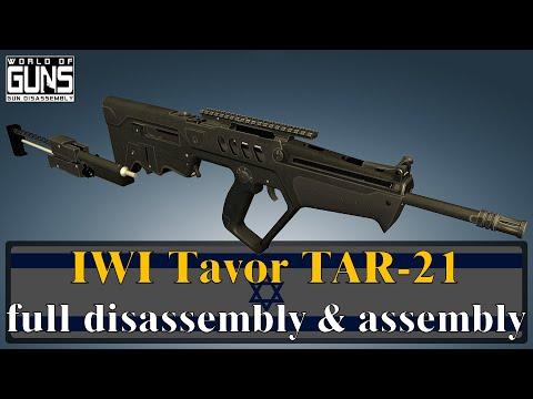 Tavor TAR-21: Full Disassembly \u0026 Assembly