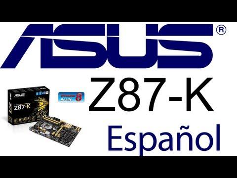 Motherboard ASUS Z87-K LGA 1150 Intel Z87 Haswell Core i7 y Core i5 Z87K