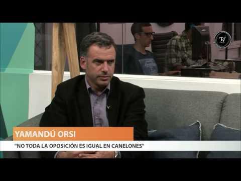 Entrevista a Yamandú Orsi, electo intendente de Canelones, en El Observador TV