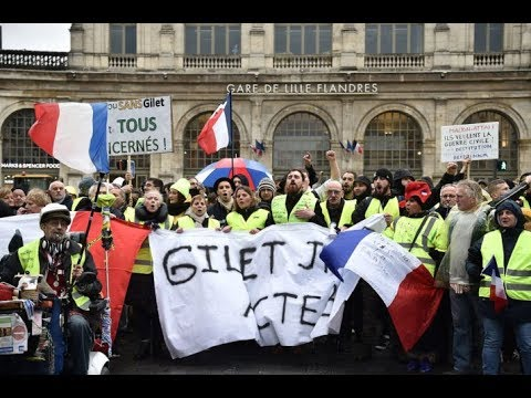Richard Wolff | Masterfully Explains France's Yellow Vest Movement
