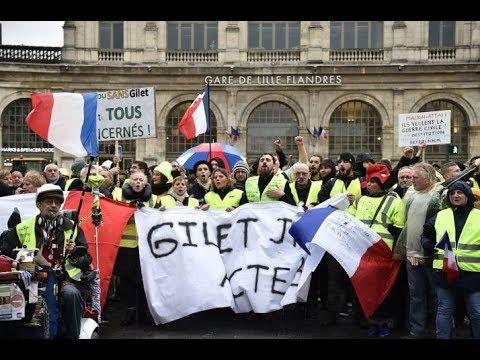 Richard Wolff | Masterfully Explains France's Yellow Vest Movement