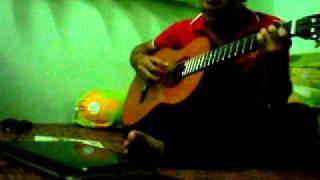 Chuyện tình cây lá và gió-Guitar Cover.AVI