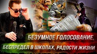 Стрим Понасенкова: безумное голосование, беспредел в школах, радости жизни