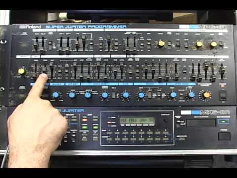 Roland MKS-80 Super Jupiter & MPG-80 Programmer