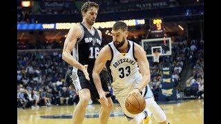 Memphis Grizzlies vs San Antonio Spurs - Full Game Highlights | Nov 29, 2017 | Ximo Pierto