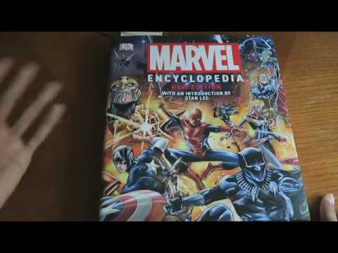 Marvel Encyclopedia 2019 Edition/Book Showcase