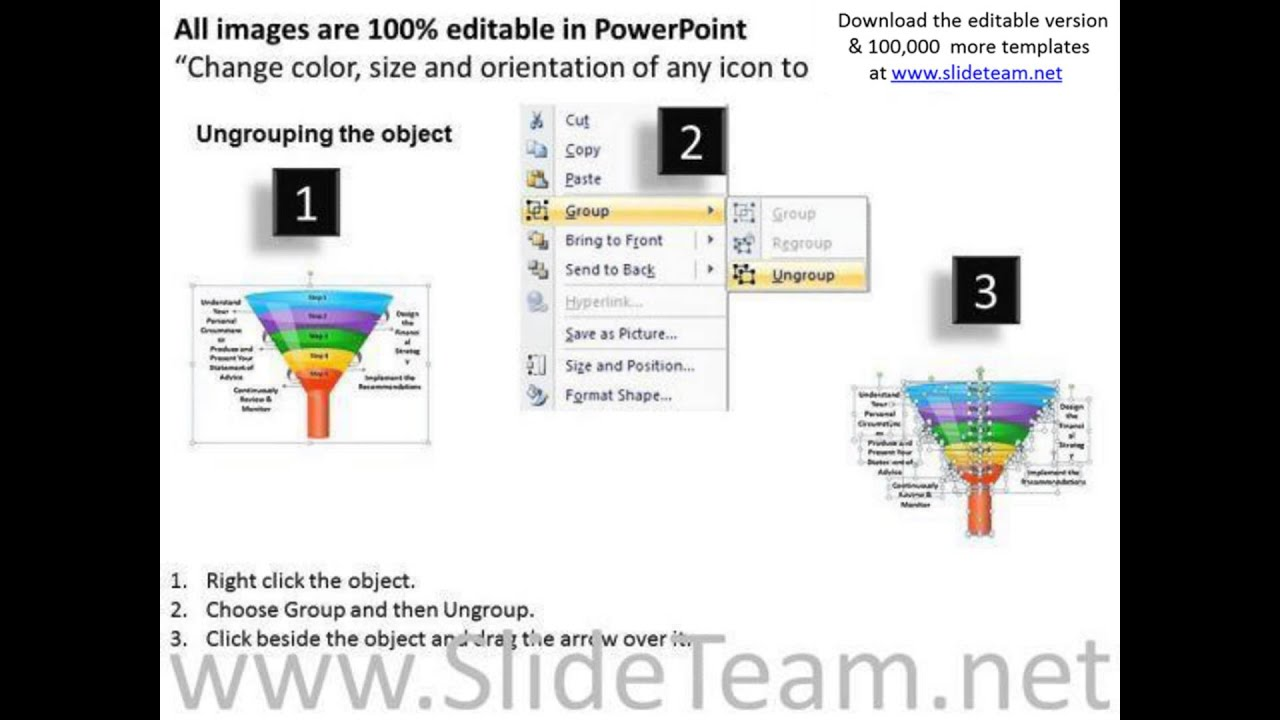 Editable Ppt Templates Business Funnel Diagram Graphic Powerpoint