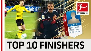 Top 10 Finishers World Cup 2018 - EA SPORTS FIFA 18 - James, Batshuayi & More