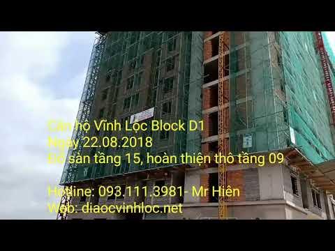 Căn hộ Vĩnh Lộc Block D1 ngày 22.08.2018