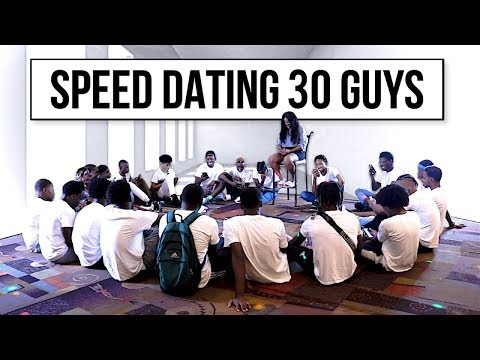 30 Vs 1: Speed Dating 30 Guys | Kat
