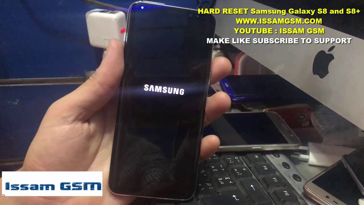 Samsung Galaxy S8 and S8+ HARD RESET Removing ScreenLock Password G950F AND  G955F