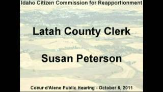 Susan Peterson, Cd