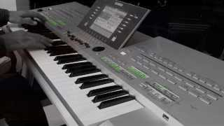 Celine Dion | My Heart Will Go On (Titanic) - Yamaha Tyros3