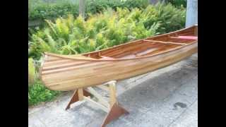 How It`s Made Woodstrip Canoe