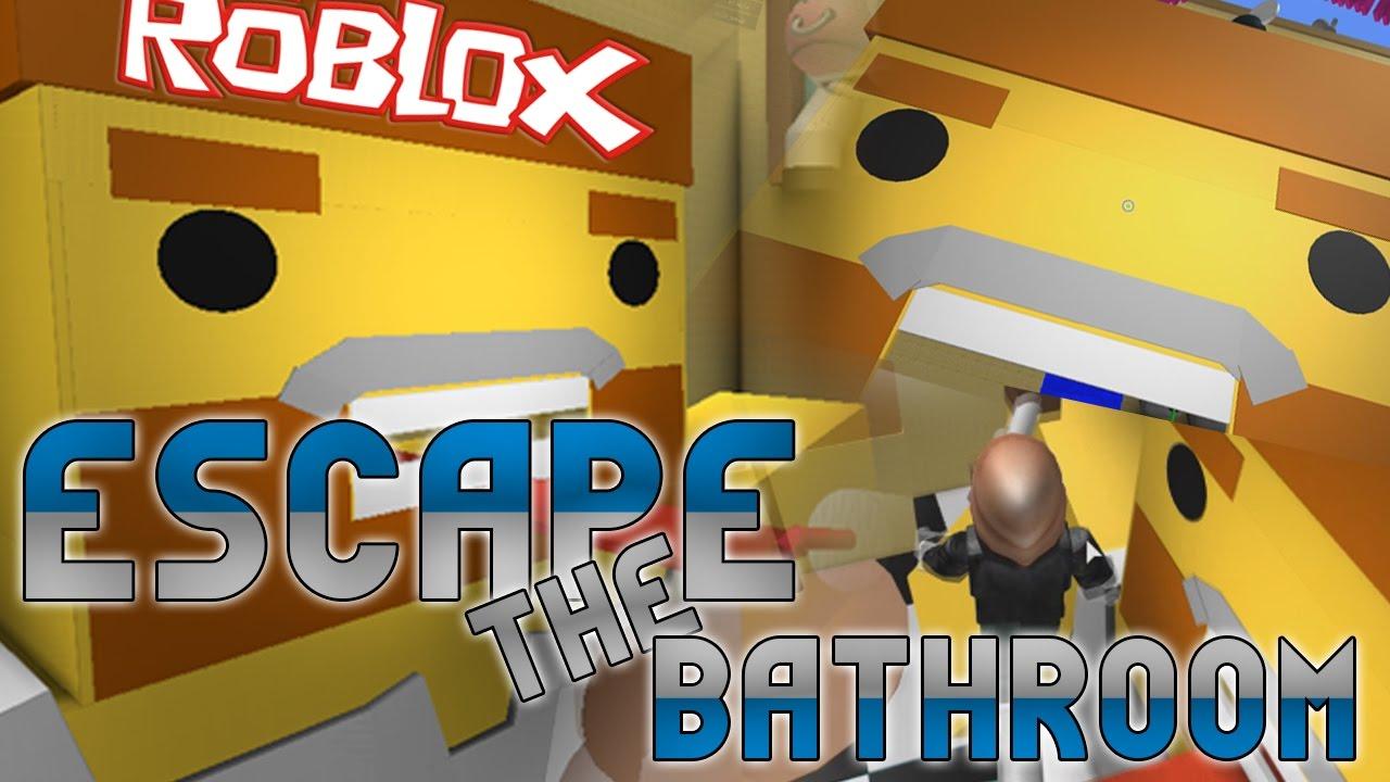 ROBLOX ESCAPE THE BATHROOM!!!