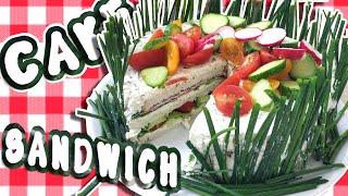 Sandwich Cake - Przepis na Kanapkowe Ciasto !!!