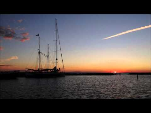 Denmark: A sunset in Gedser