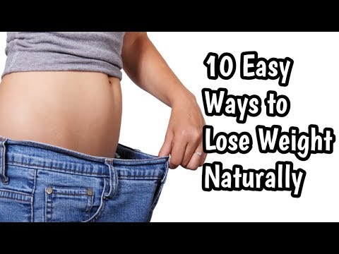10 Easy Ways to Lose Weight Naturally | Loss Weight Tips | Heath And Fitness Tips