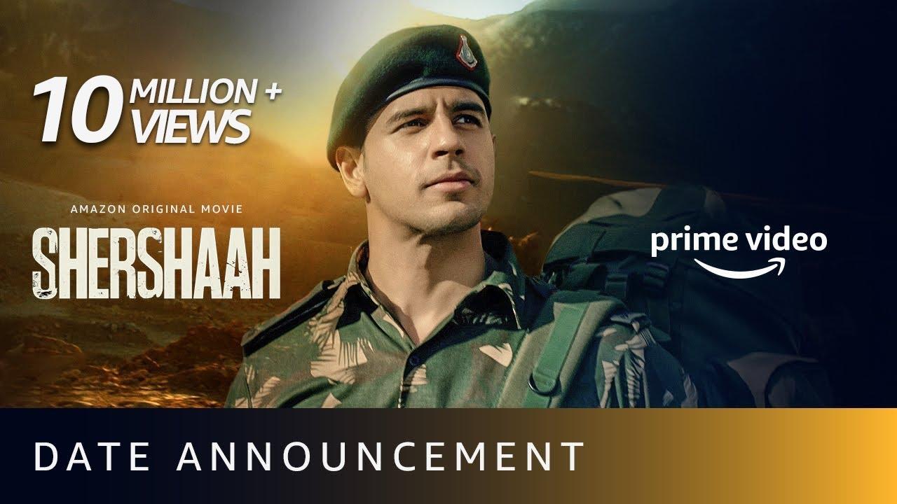 Download Shershaah - Date Announcement | Vishnu Varadhan | Sidharth Malhotra, Kiara Advani | Aug 12