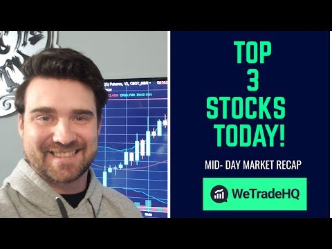 TOP 3 PENNY STOCKS of the DAY! | MARCH 2019
