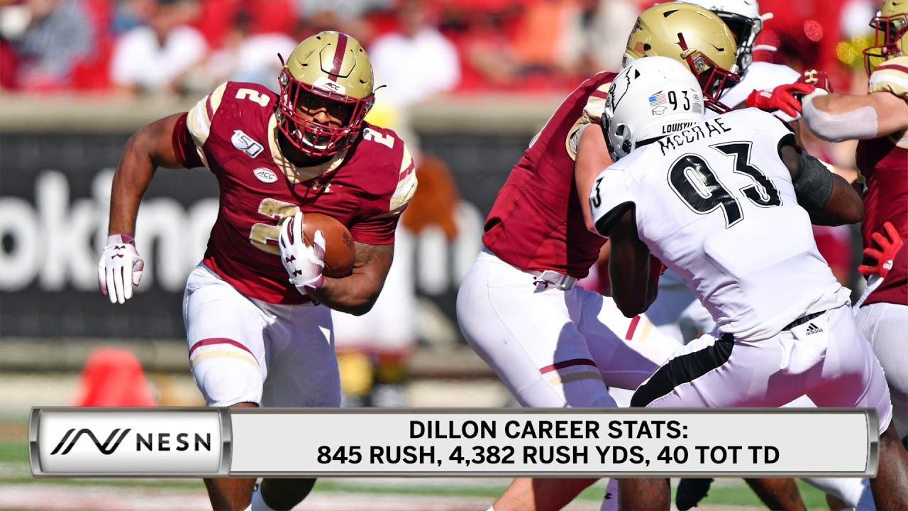 2020 Football Bowl Games.Aj Dillon To Enter 2020 Nfl Draft Will Forgo Senior Season And Bowl Game