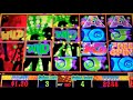 Wild a Go Go Slot Machine Bonus - 7 Free Games with Stacked Wilds - Big Win